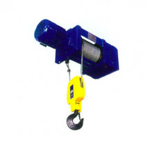 Foot-mounted Electric Wire Rope Hoist(2/1rope Reeving)
