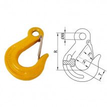 Eye Sling Hooks With Latches