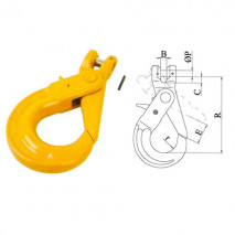 Clevis Hooks Series With Positive Locking Latches