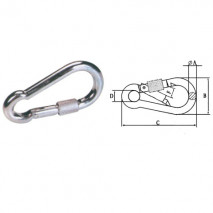 Snap Hook With Screw,Zinc Plated