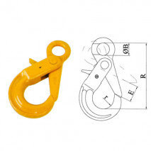 Eye Hooks Series With Positive Locking Latches