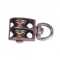 Die Casting Double Pulley, Zinc Alloy, Zince Plated