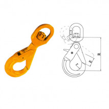 Swivel Hooks Series With Positive Locking Latches