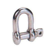 Stainless Steel Screw Pin Chain Shackle U.S. Type, A.I.S.I. 304 Or 316