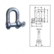 Screw Pin Anchor Shackles G-210