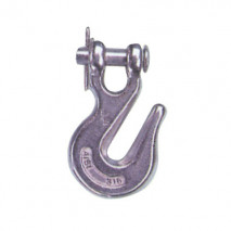 Stainless Steel Clevis Grag Hook, A.I.S.I. 304 Or 316