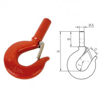 Shank Hooks With Latches