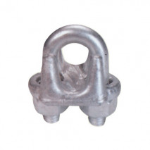 Stainless Steel Malleable Type Wire Rope Clip U.S. Type, A.. I.S.I.