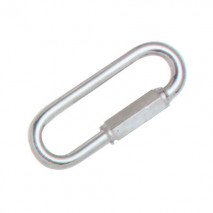 Wide Jaw Quick Link,Zinc Plated