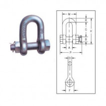 Bolt Type Chain Shackles G-2150