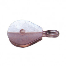 Die Casting Single Pulley, Zinc Alloy, Zinc Plated