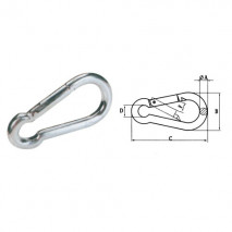 Snap Hook,Zinc Plated