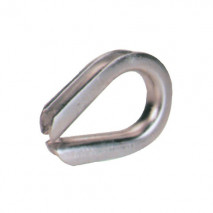 Stainless Steel Extra Heavy Duty Wire Rope Thimble U.S. Type, A.I.S.I. 304 Or 316