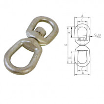 Chain Swivel (G-401)Hot Dip Galvanized