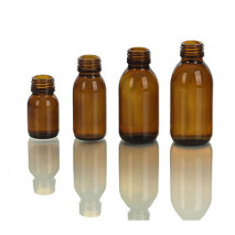 AMBER GLASS BOTTLE 30ml-125ml
