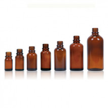 AMBER GLASS BOTTLE 5ml-150ml