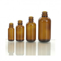 AMBER GLASS BOTTLE 15ml-120ml