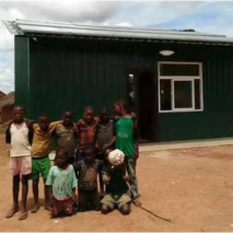 5KW off-grid grinding photovoltaic system Installation,Zambia