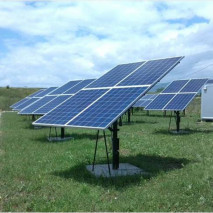7KW  off-grid PV system in Slovenia