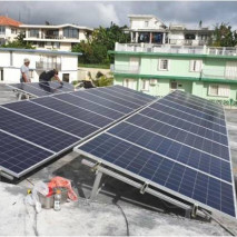 14.5KW roof project in Guam