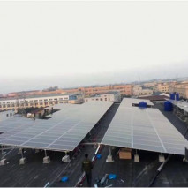Bull group headquarters: 400KW PV station.